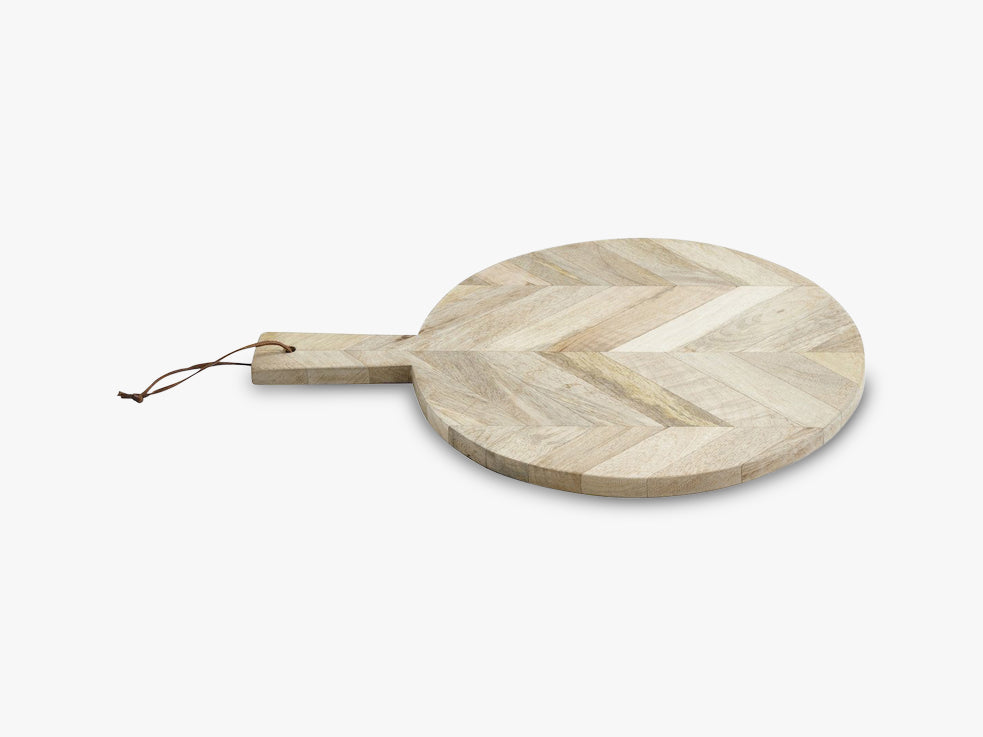 Chopping board, herringbone, wood, S fra Nordal