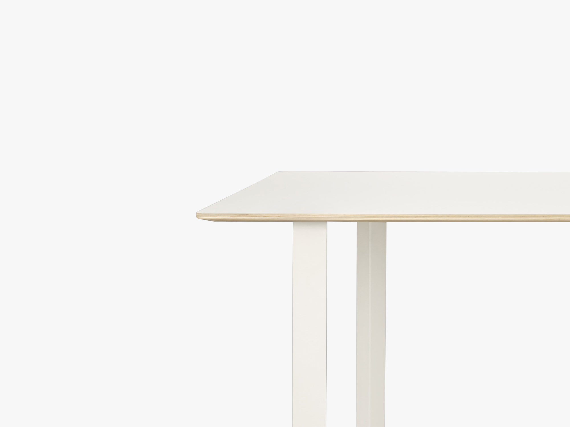70-70 Table - Large, White/White fra Muuto