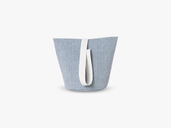 Chambray Basket Blue, Medium fra Ferm Living