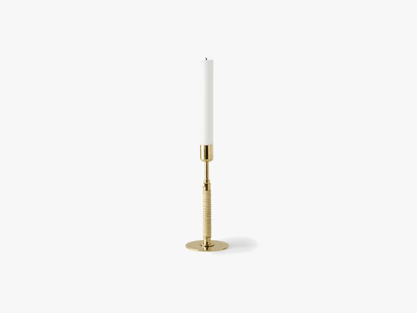 Duca Candleholder, Polished Brass fra Menu