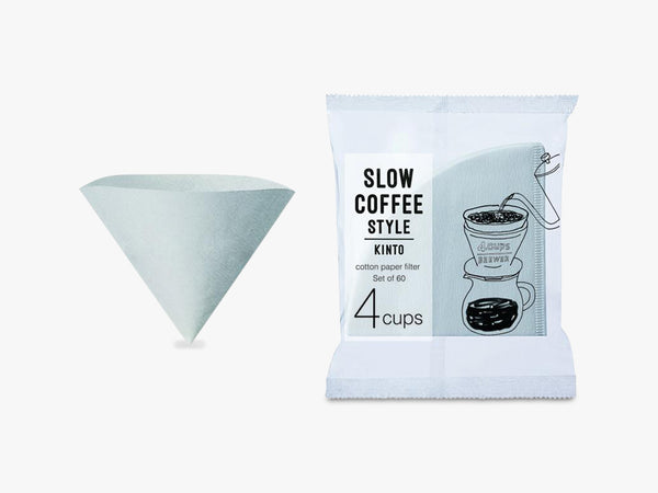 SCS-04-CP-60 cotton paper filter 4cups fra KINTO