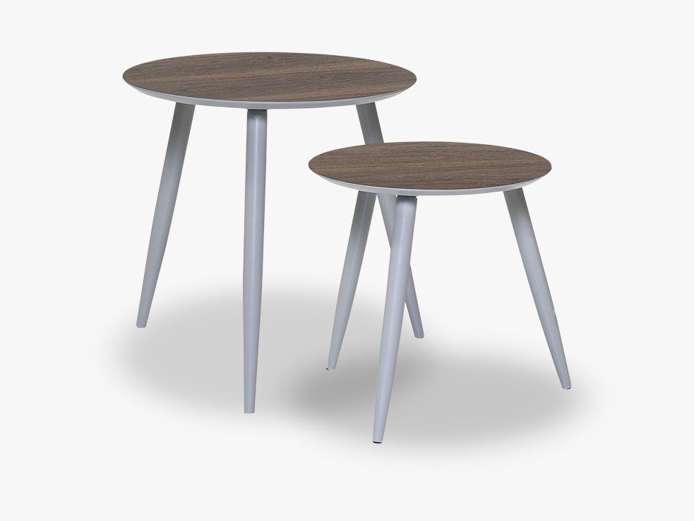 Asta Coffee Table, Grey, MDF fra Bloomingville