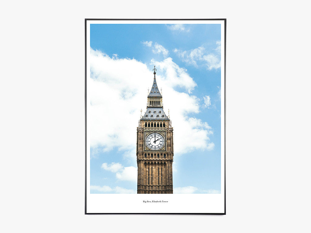 Big Ben - Beautiful World Plakat fra Beautiful World