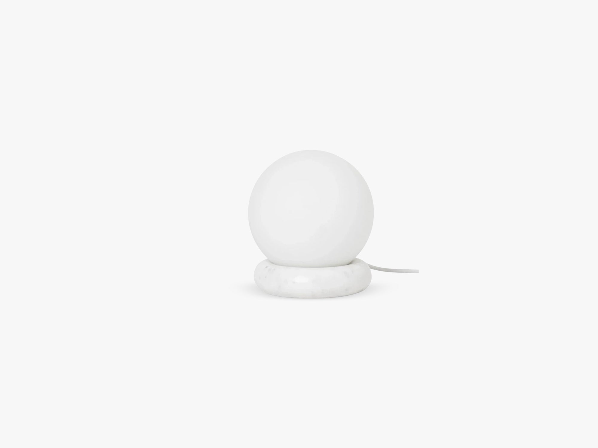 Rest Lamp, White Marble fra Ferm Living