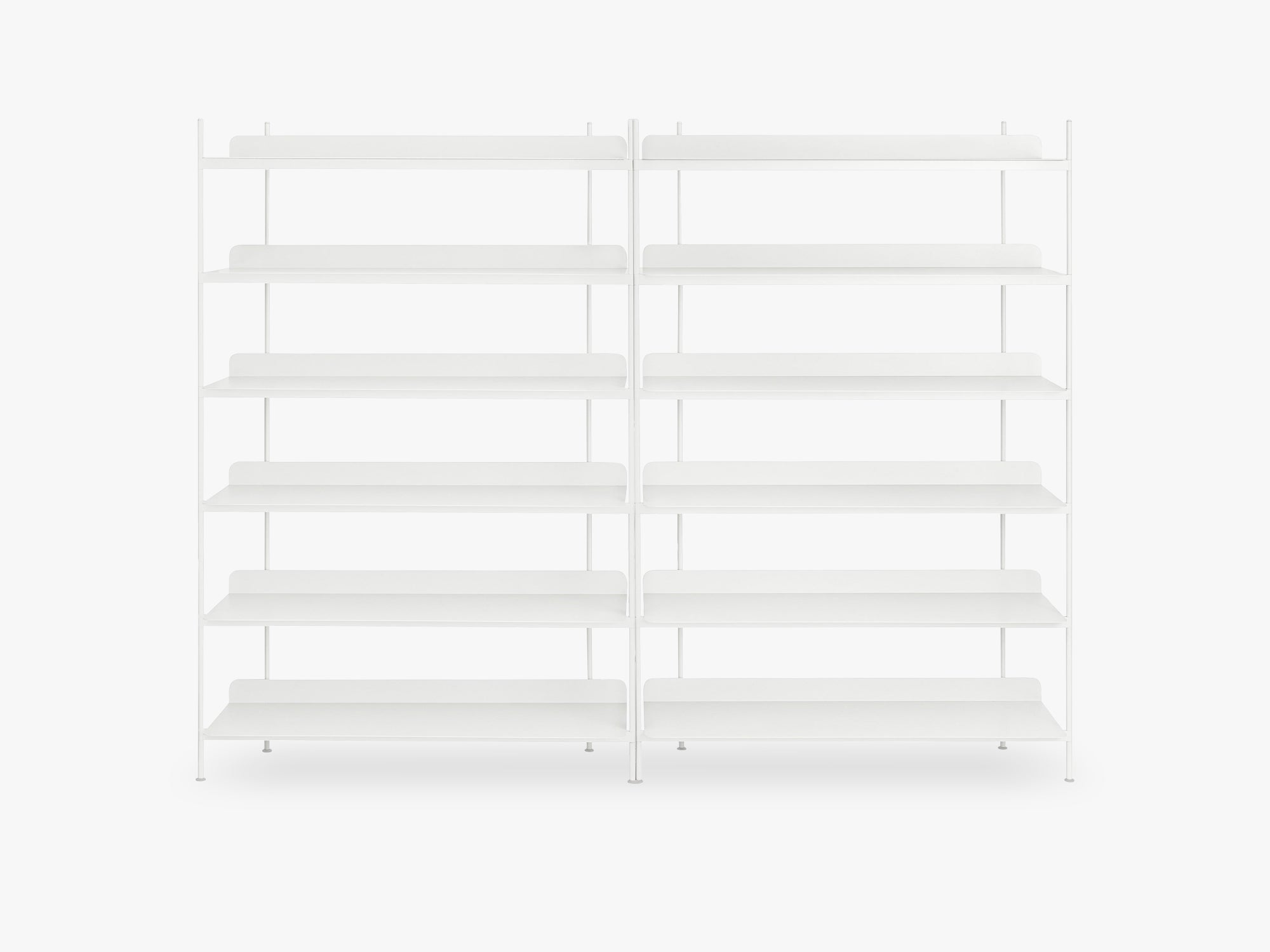 Compile Shelving System / Configuration 8, White fra Muuto