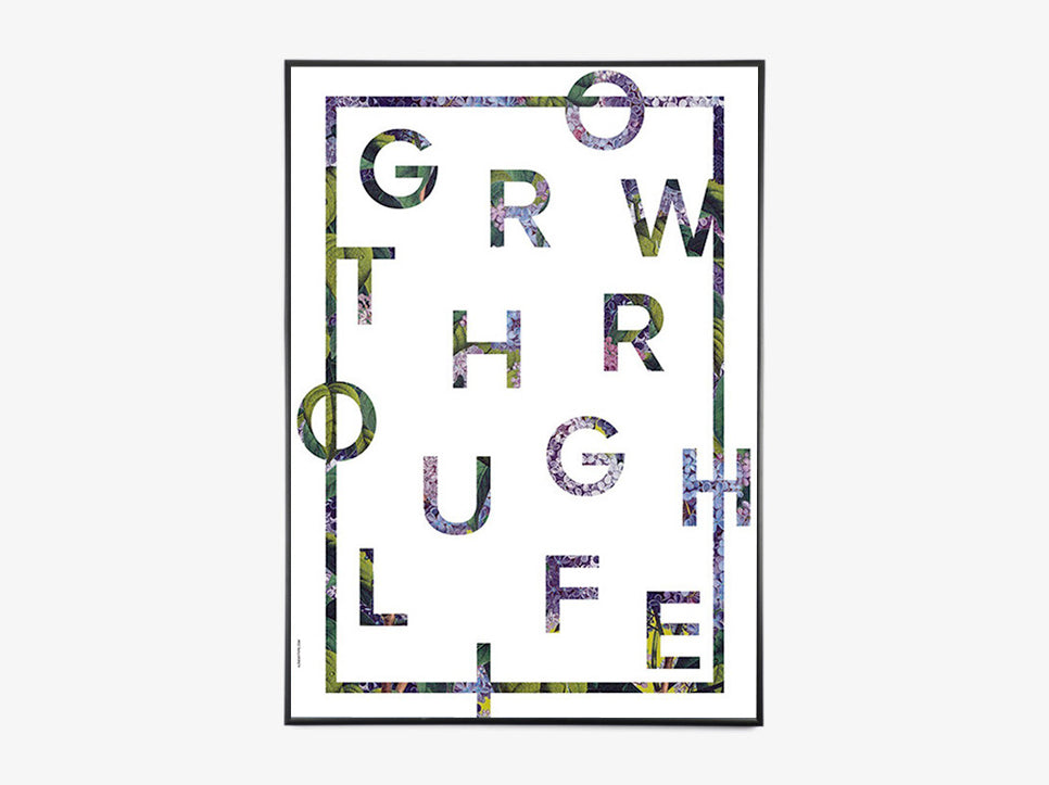 Grow Through Life - White fra I Love My Type