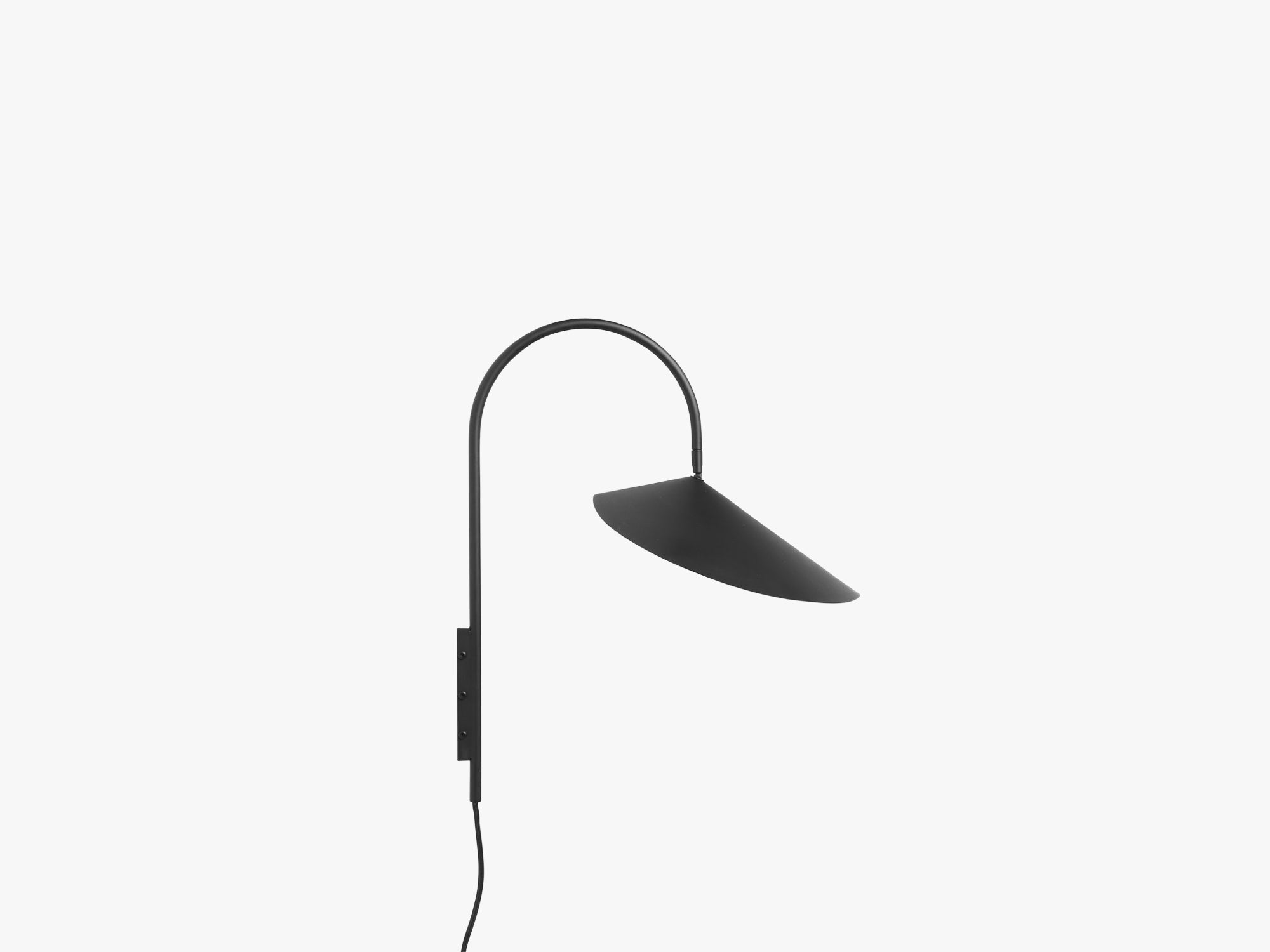 Arum Wall Lamp, Black fra Ferm Living