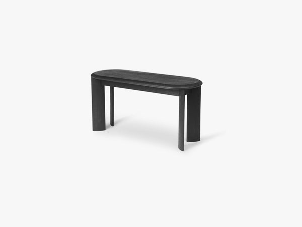 Bevel Bench - Black Oiled Oak fra Ferm Living