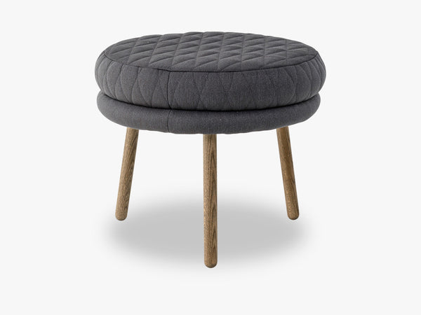 Kind Pouf, Grey, Polyester fra Bloomingville