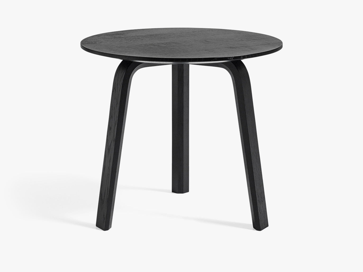 Bella Coffee Table - Ø45 x H39, Sort fra HAY