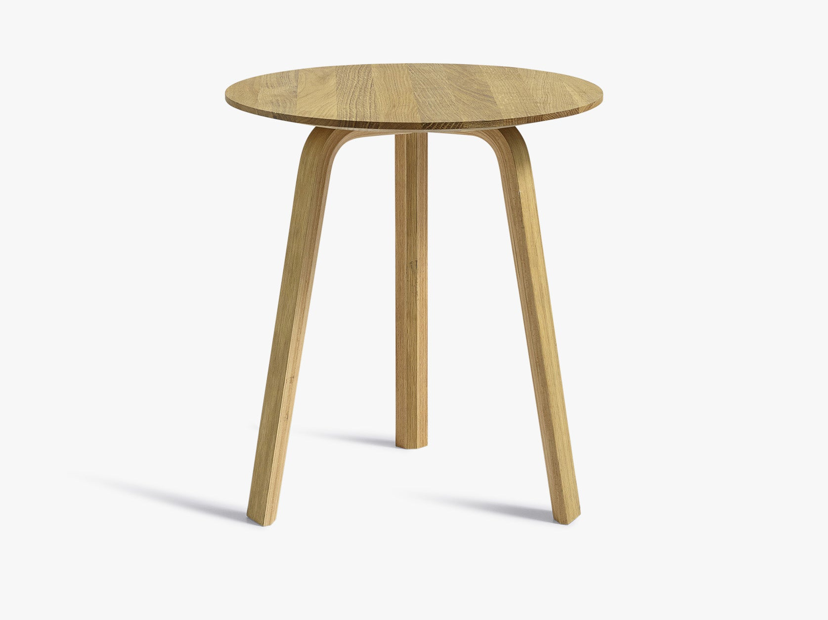 Bella Coffee Table - Ø45 x H49, Oak Oil fra HAY