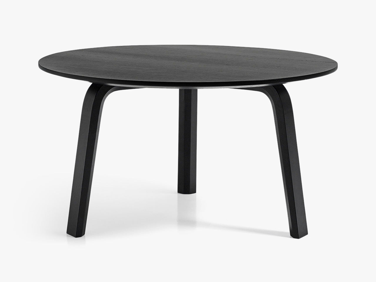 Bella Coffee Table - Ø60 x H32, Sort fra HAY