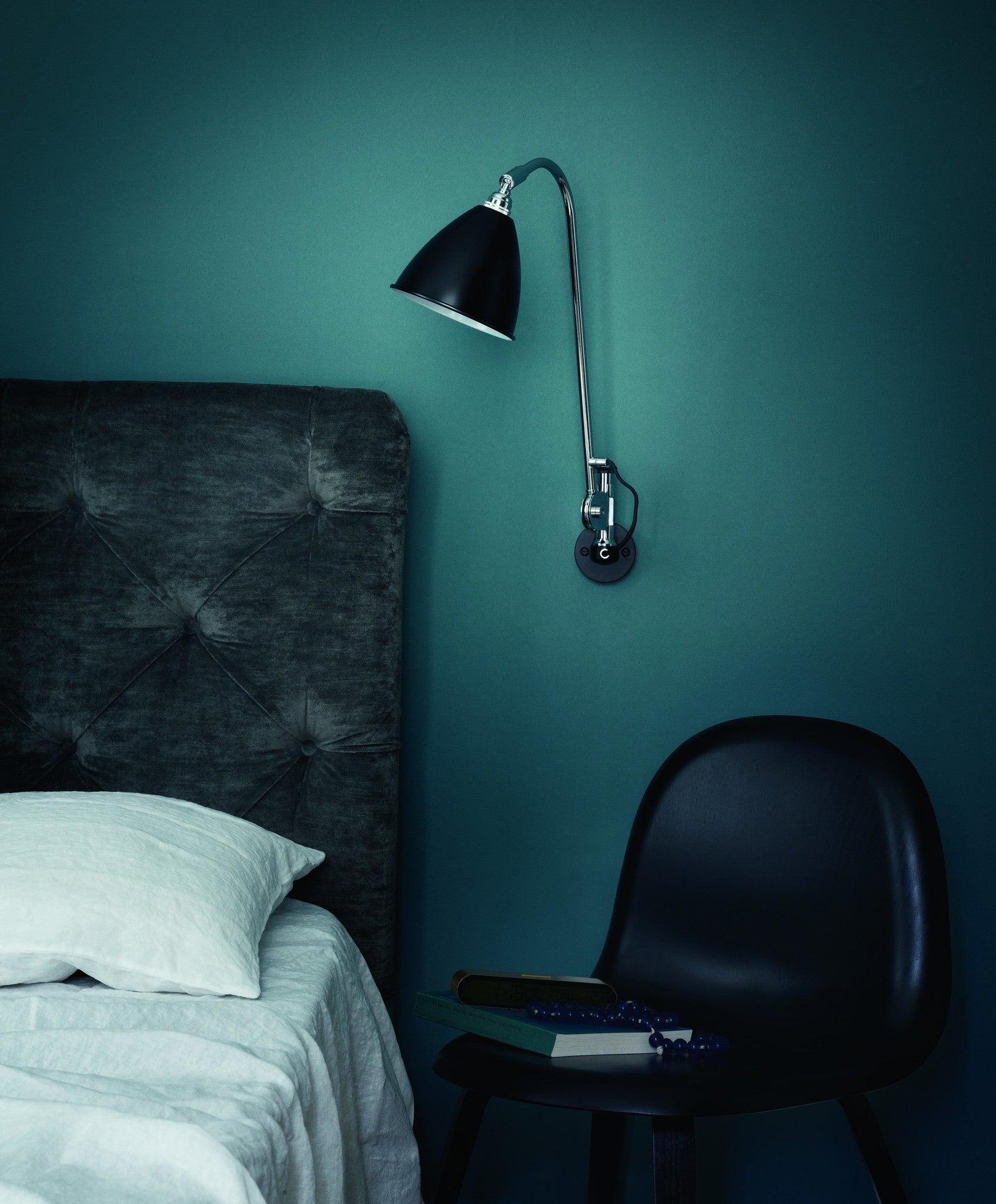 Bestlite BL6 Wall Lamp - Ø16 - All Brass, Bone China fra GUBI