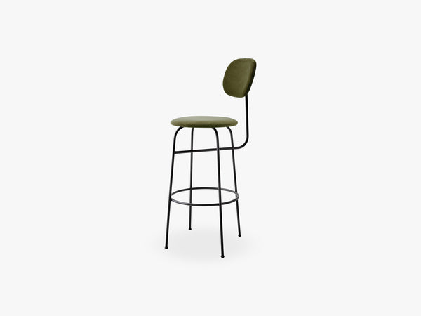 Afteroom Bar Chair Plus, Black/City Velvet CA7832/031 fra Menu