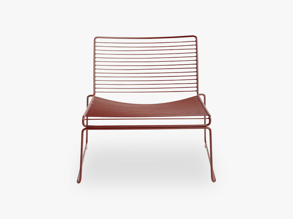 HEE Lounge Chair, Red fra HAY