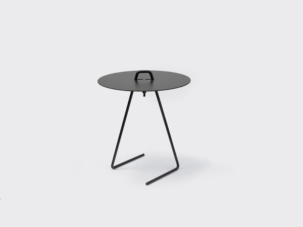 Side Table - Black Top fra Moebe