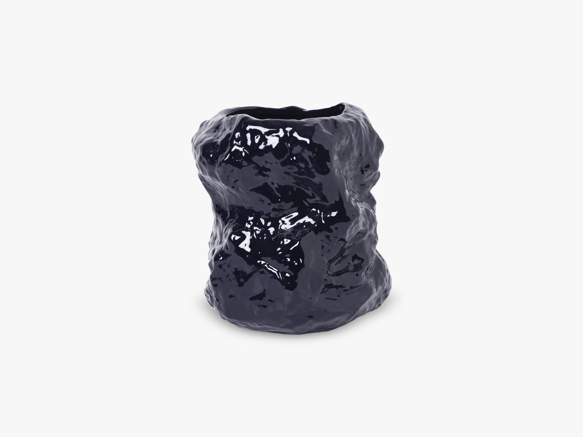 Tuck Vase, Blue fra Ferm Living