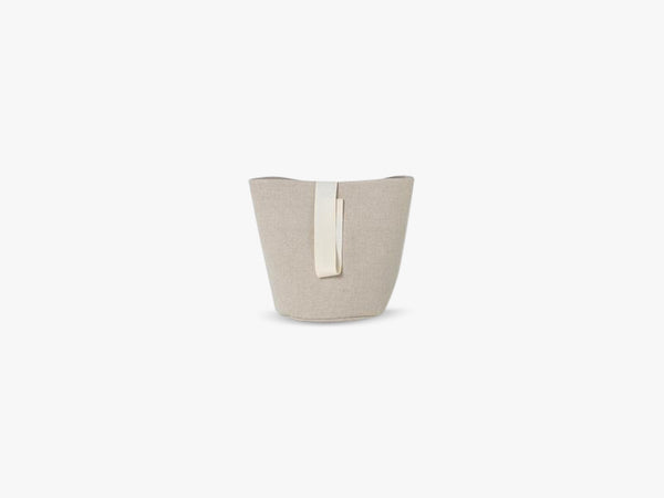 Chambray Basket Sand, Small fra Ferm Living