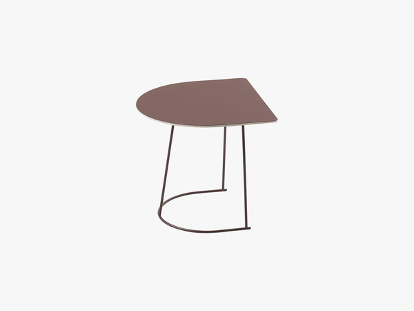 Airy Coffee Table - Half Size, Plum - Nanolaminate fra Muuto