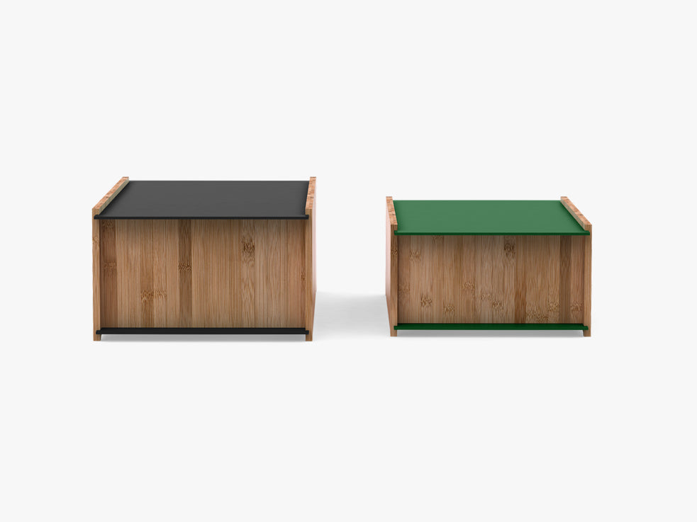 Chest, 2 stk - Black & Dark Green fra We Do Wood