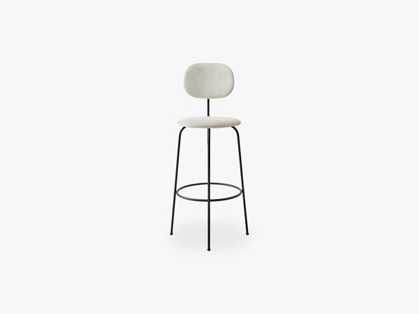 Afteroom Bar Chair Plus, Black/Maple 222 fra Menu