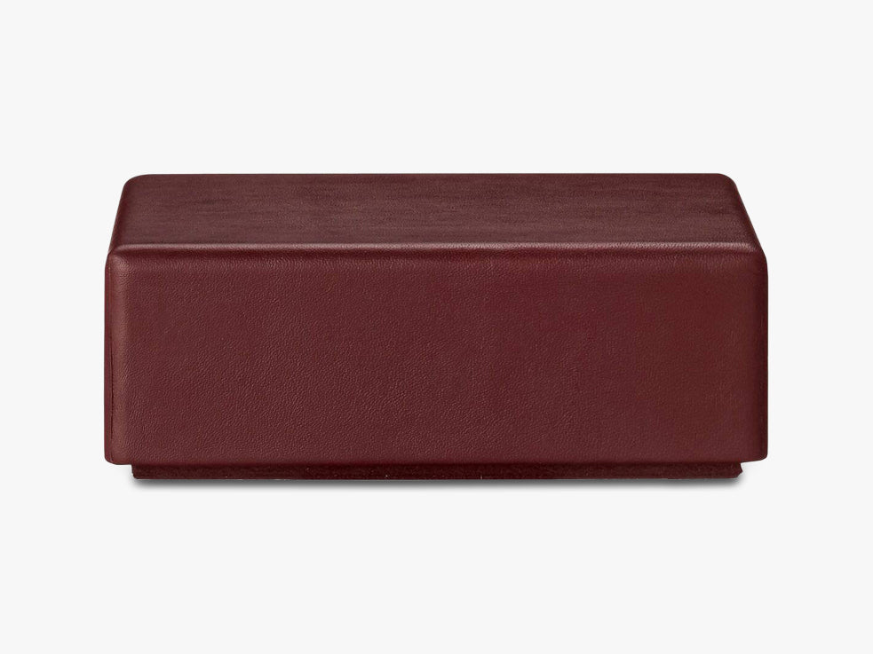 THECA box - medium, bordeaux fra AYTM
