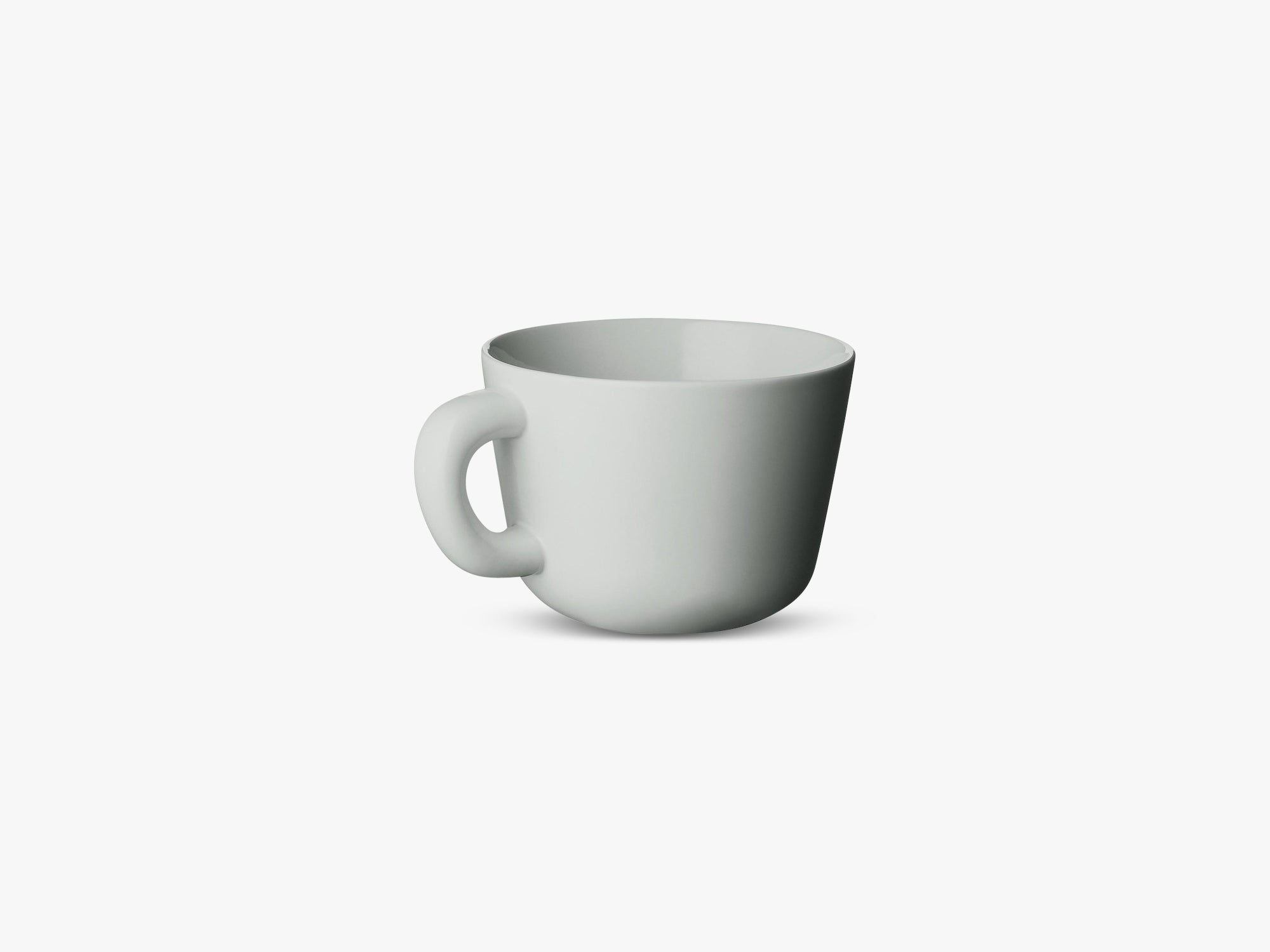 Bulky Ceramic Series, Cups - Grey (2 pcs) fra Muuto