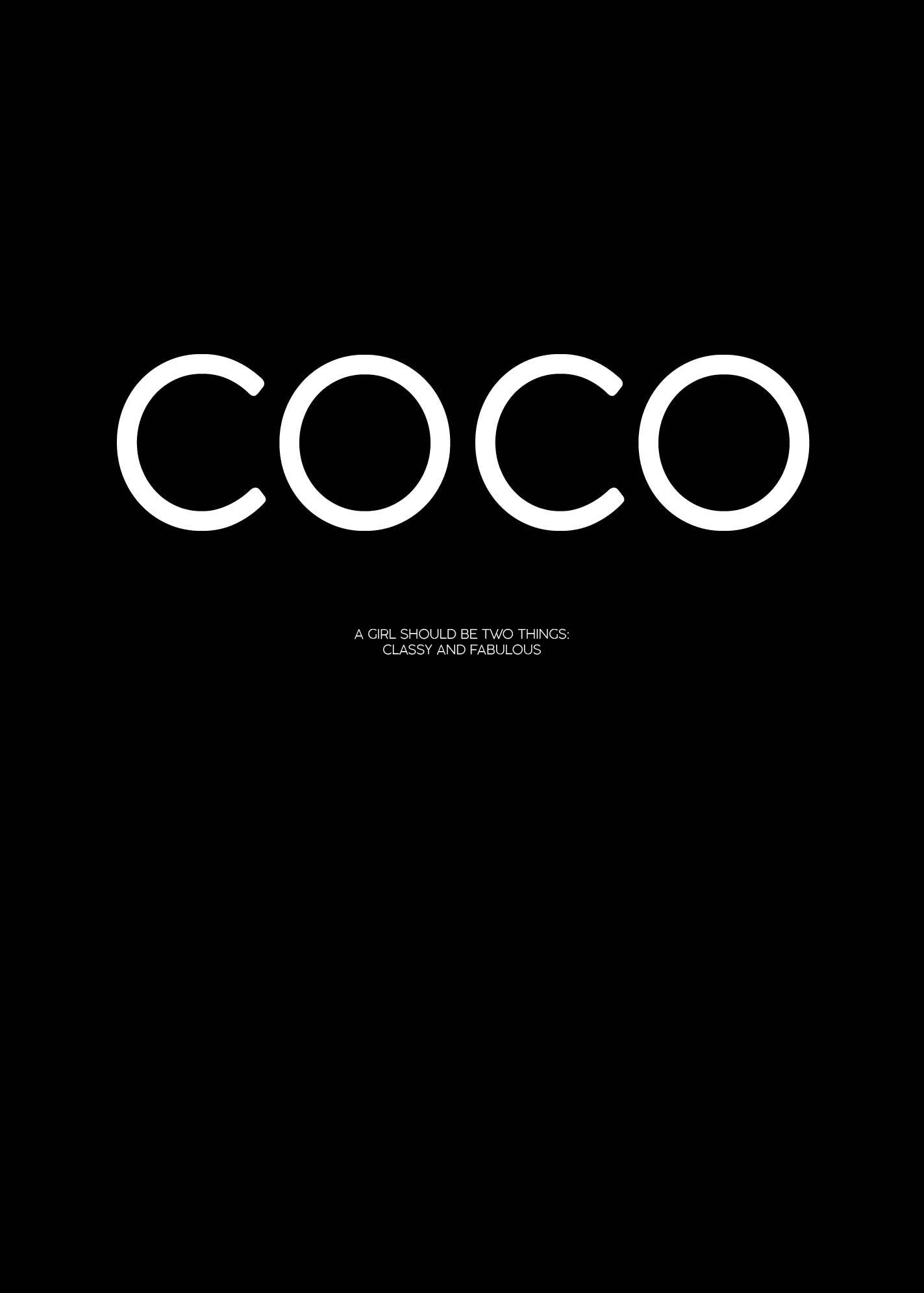 COCO, Black fra Beautiful World