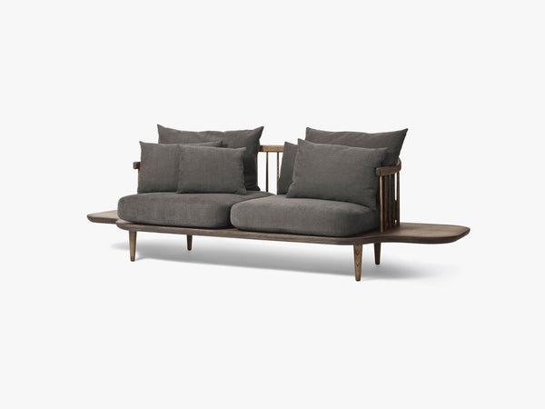 Fly Sofa w side tables - SC3 - Smoked/Hot Madison 093 fra &tradition