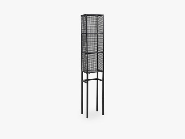 WIRE rack, slim, black fra Nordal