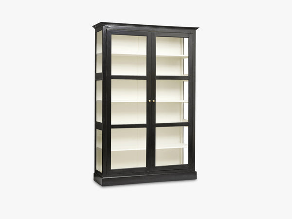 CLASSIC cabinet, double, black fra Nordal