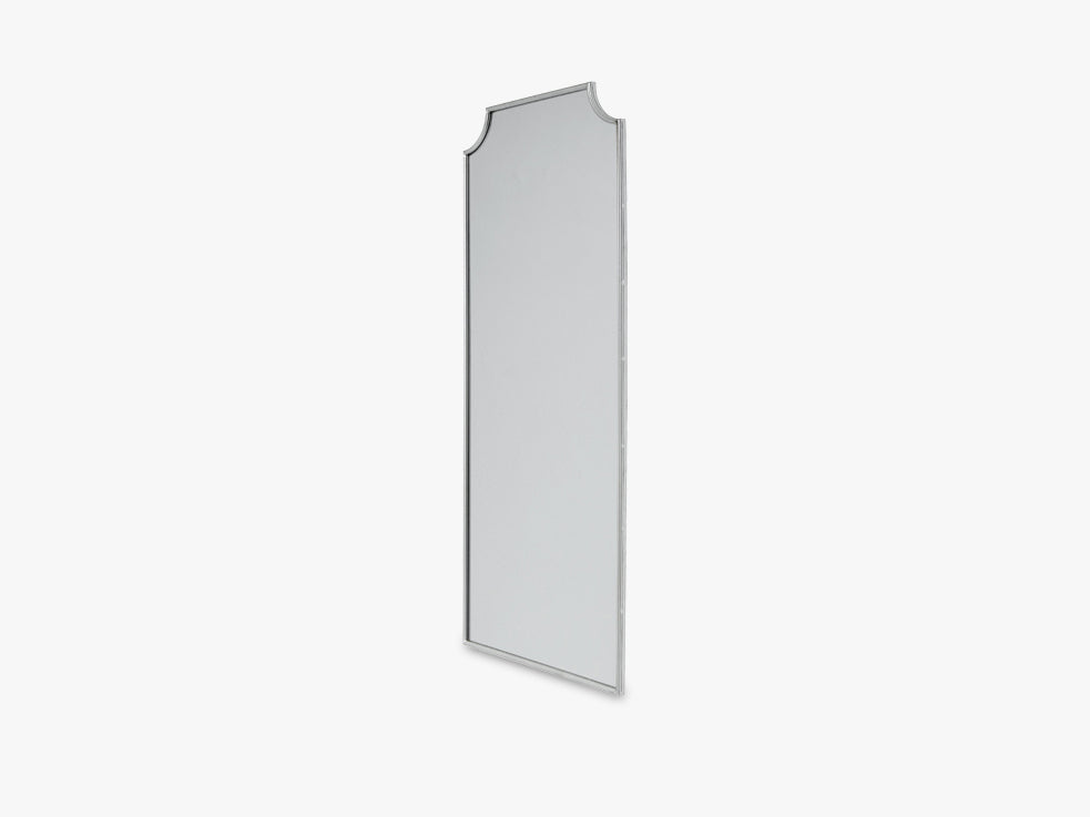 SPIRIT Iron wall mirror, large, silver fra Nordal