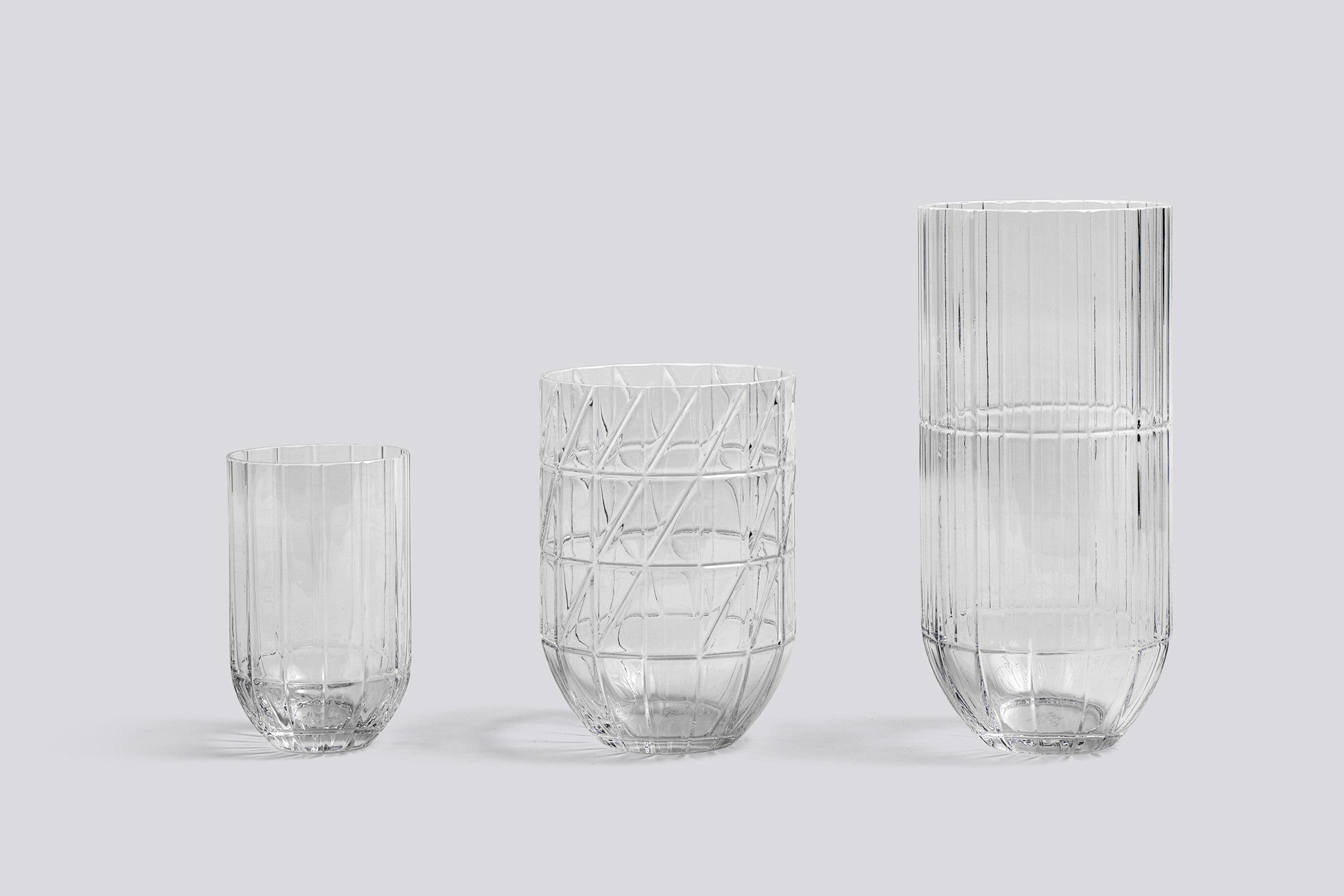 Colour Vase XL - Transparent fra HAY