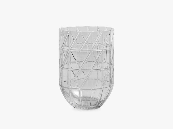 Colour Vase L - Transparent fra HAY