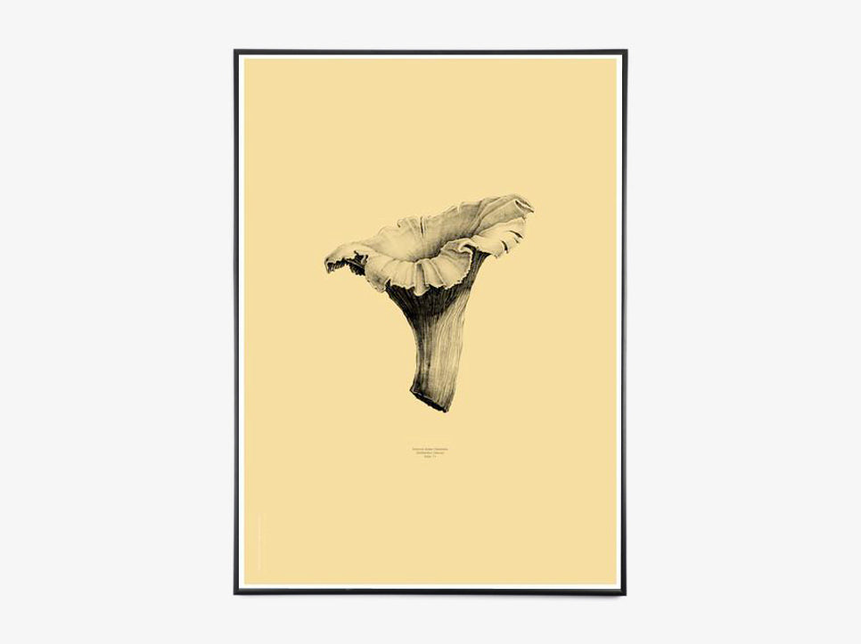 Nature 1:1 Chanterelle, Light Yellow fra Paper Collective