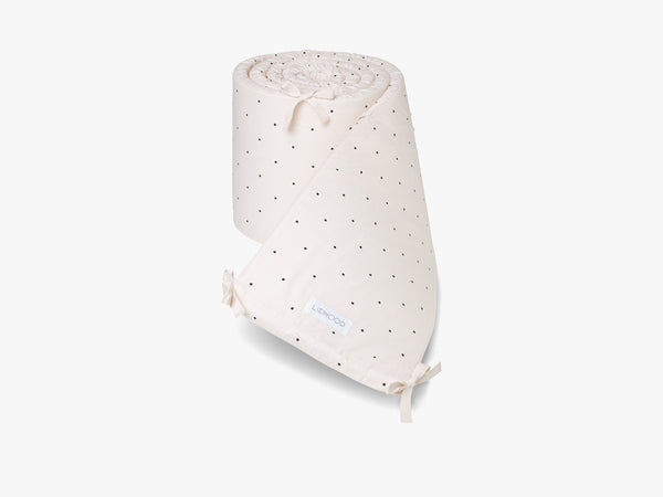 Sally Cot Bumper Classic Dot, Sweet Rose fra Liewood