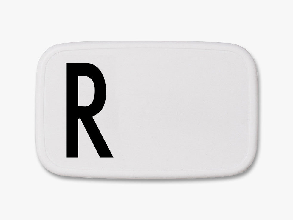 R - Personal Lunch Box fra Design Letters