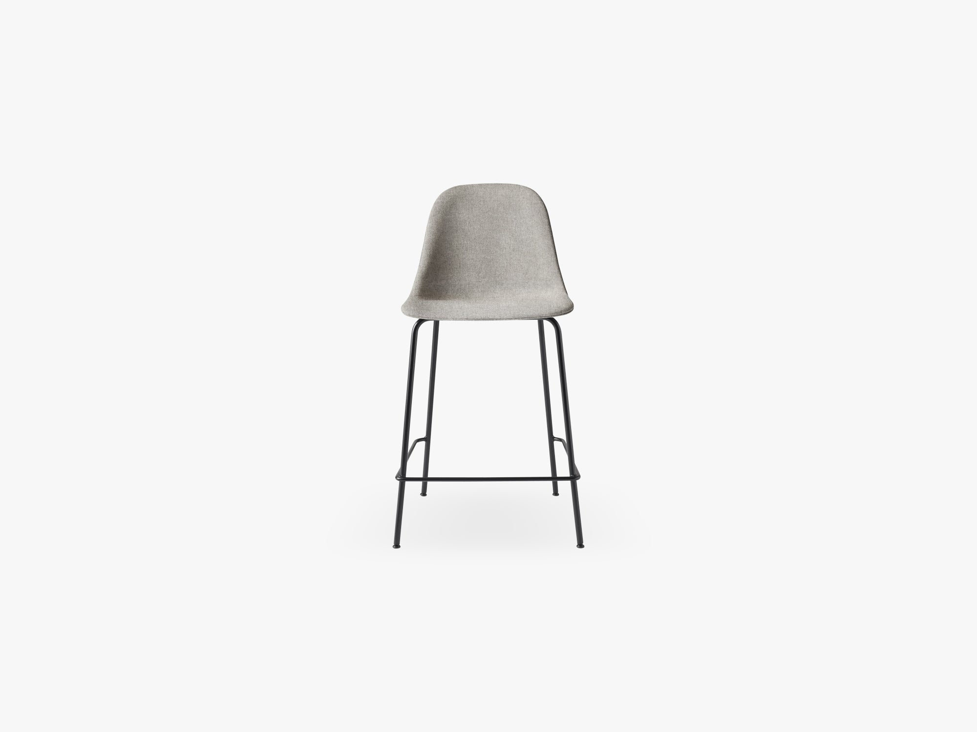 Harbour Side Chair - Counter, Black Steel Base, Hallingdal 65, 130 fra Menu