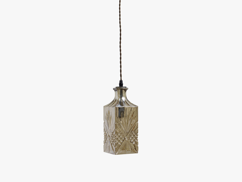 FLACON lamp, coffee color, square fra Nordal