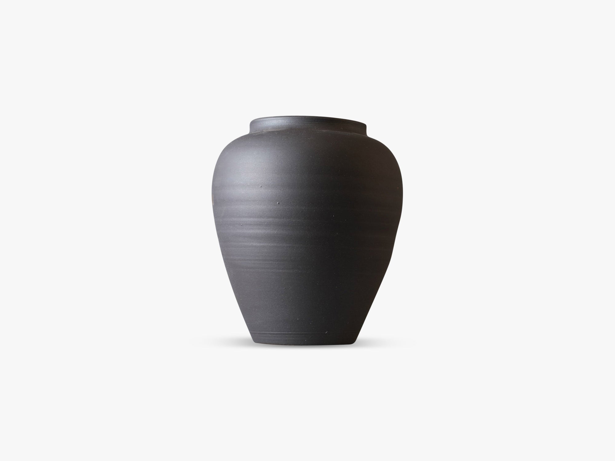 Boyhood Ceramic Pot - Large, Matt Dark fra Specktrum