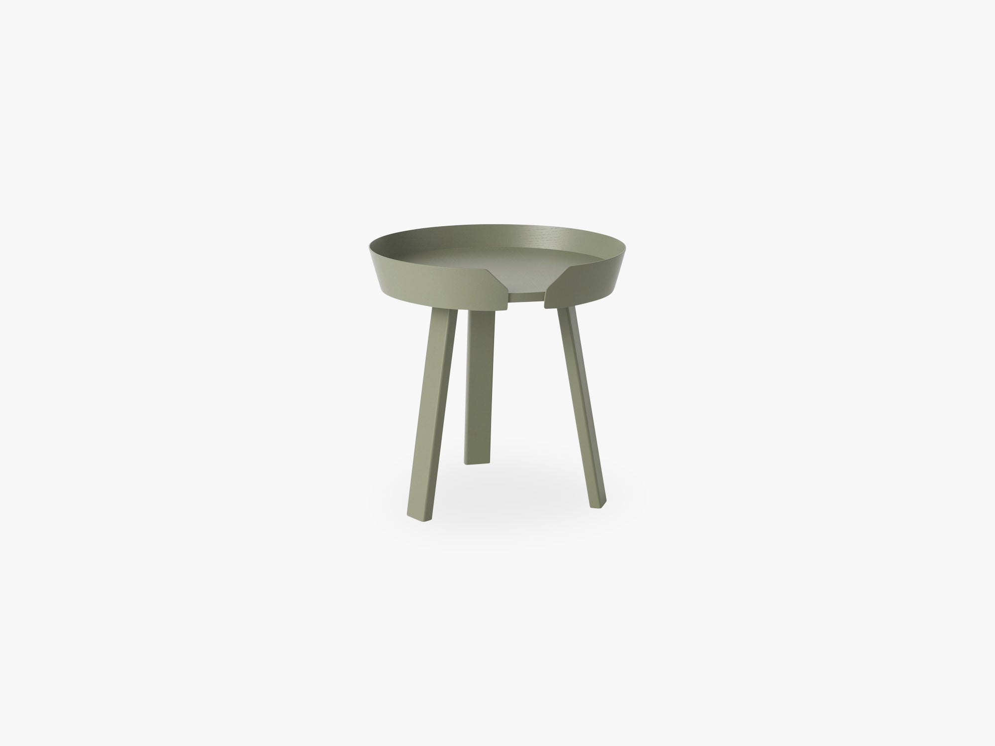 Around Coffee Table - Small, Dusty Green fra Muuto