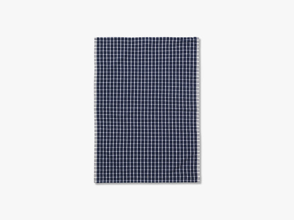 Hale Yarn Dyed Linen Tea Towels, Blue/Off-white fra Ferm Living
