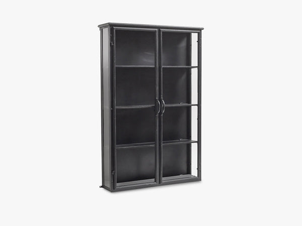 DOWNTOWN wall cabinet, black fra Nordal