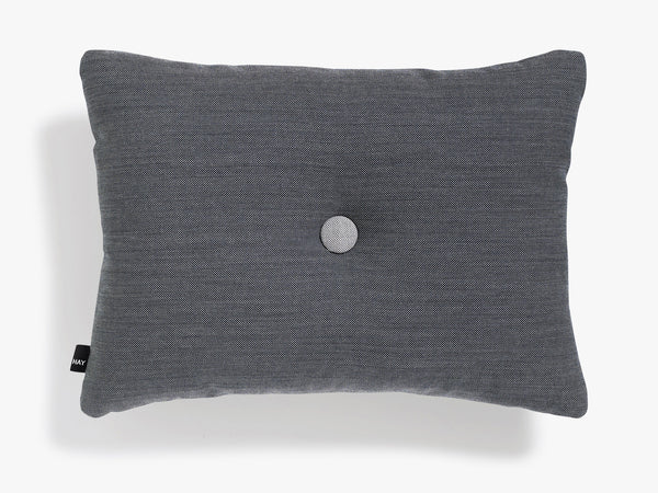 Dot Cushion Surface 1 Dot, Charcoal fra HAY