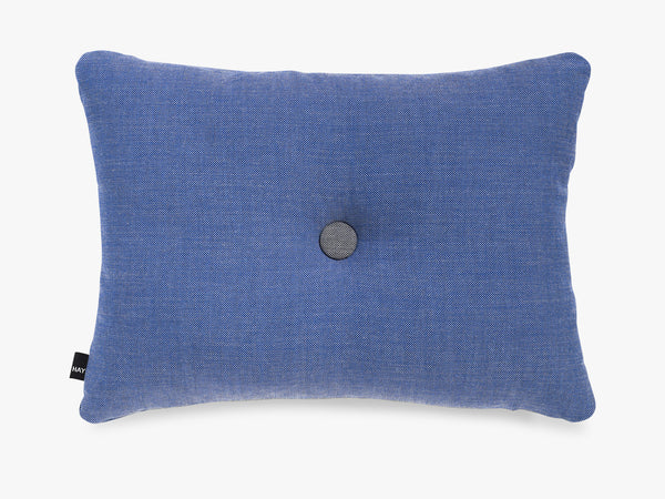 Dot Cushion Surface 1 Dot, Denim fra HAY