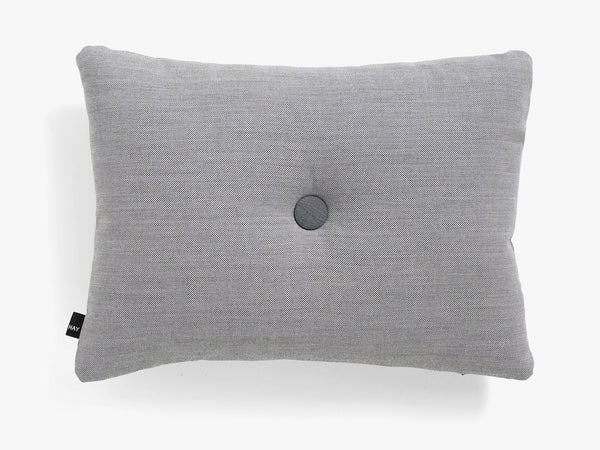 Dot Cushion Surface 1 Dot, Light Grey fra HAY