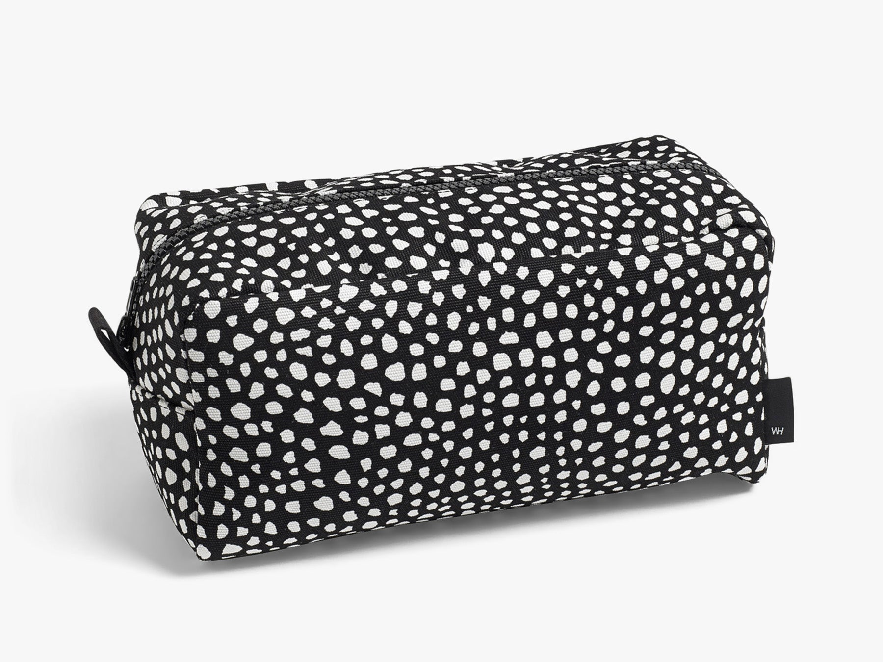 Dot Wash bag L - Sort fra HAY