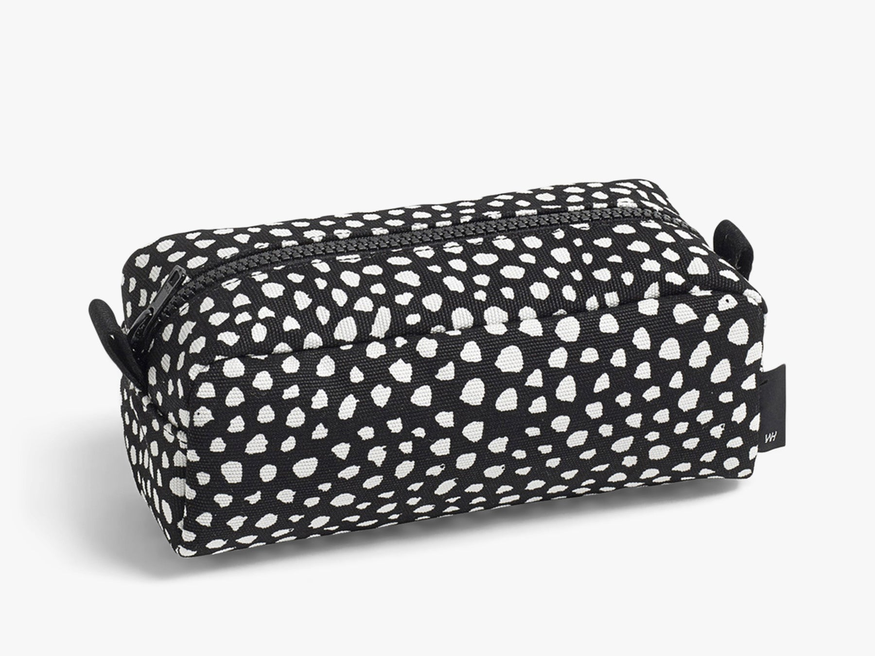 Dot Wash bag S - Sort fra HAY