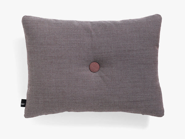 Dot Cushion Surface 1 Dot, Greyish burgundy fra HAY