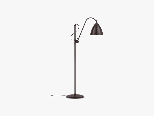 BL3 Floor Lamp - Ø16 Black Brass, Black Brass fra GUBI